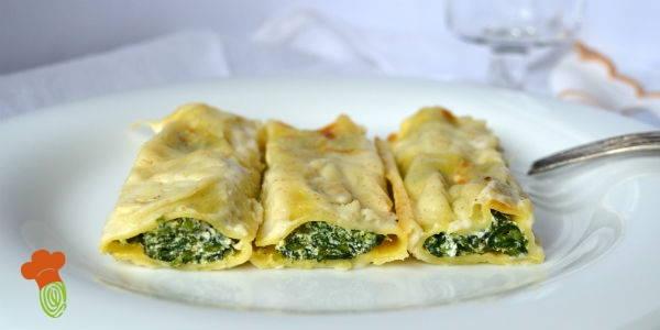cannelloni ricotta e spinaci cover