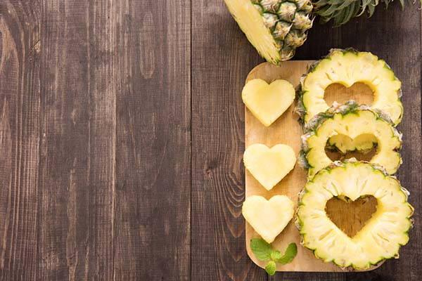 dieta ananas cuori