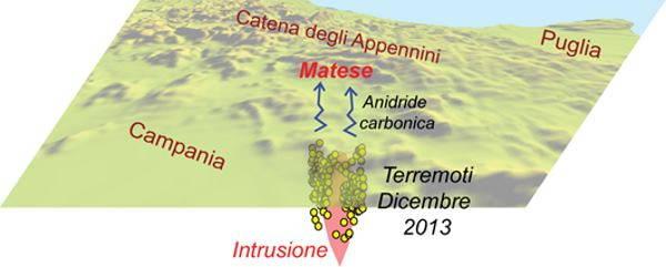 mappa terremoti ingv