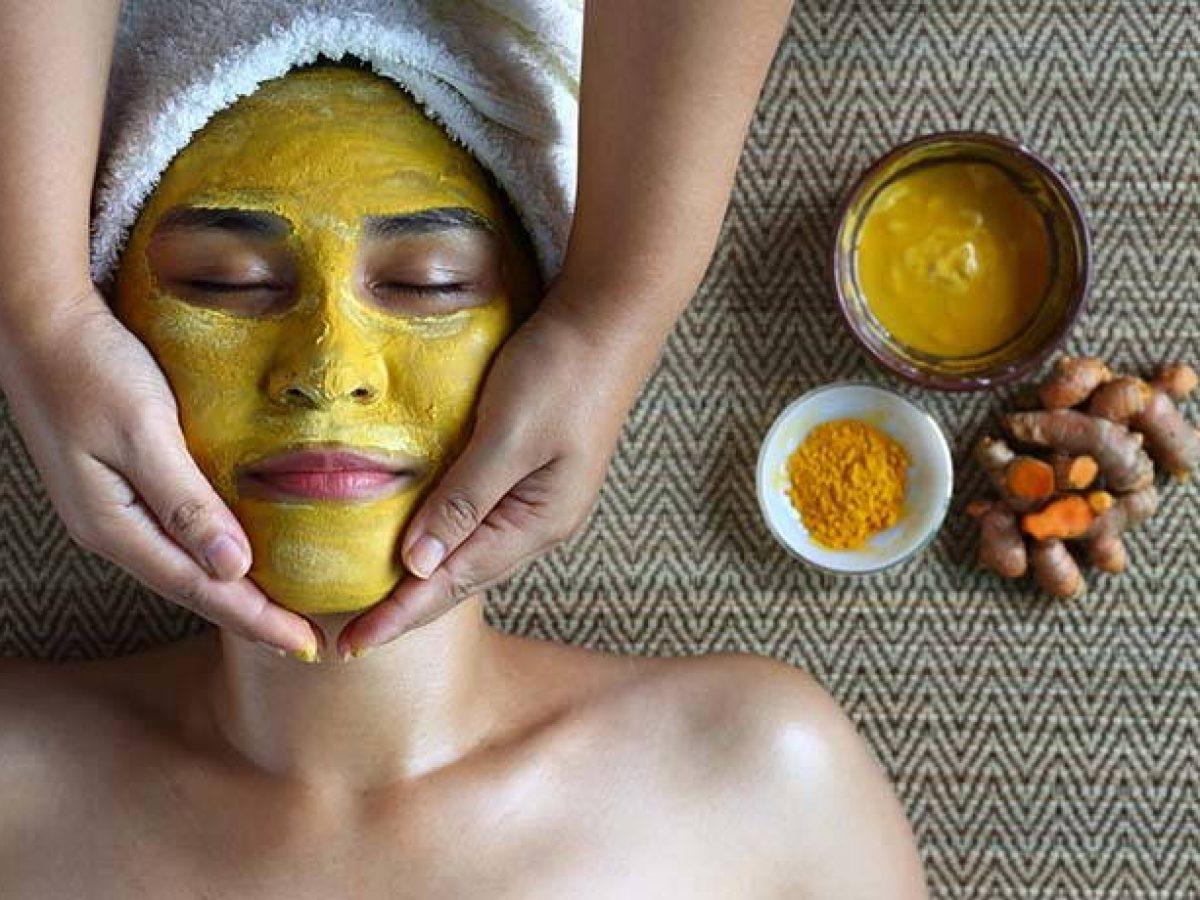 maschera viso zucchero e olio