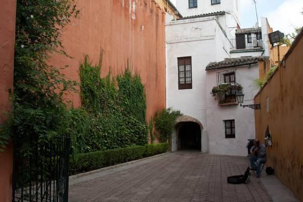 murallas y barrio de santa cruz siviglia