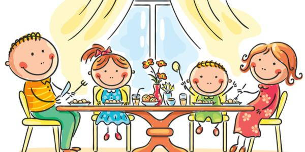 mangiare insieme famiglia