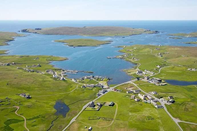Linga isola Scozia