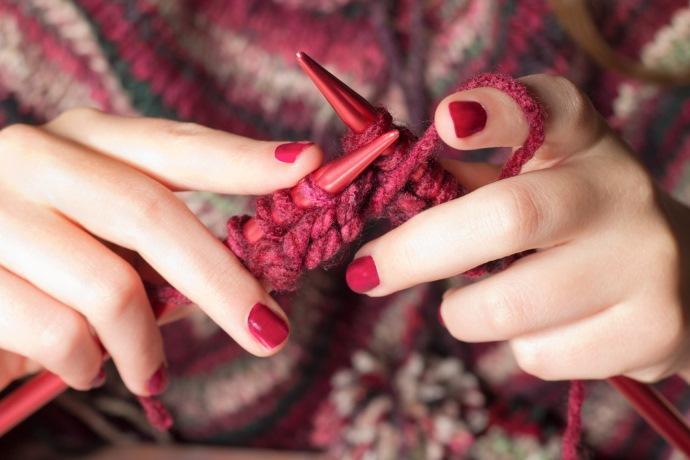 knitting maglia