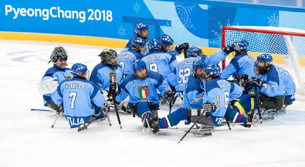 paralimpiadi hockey