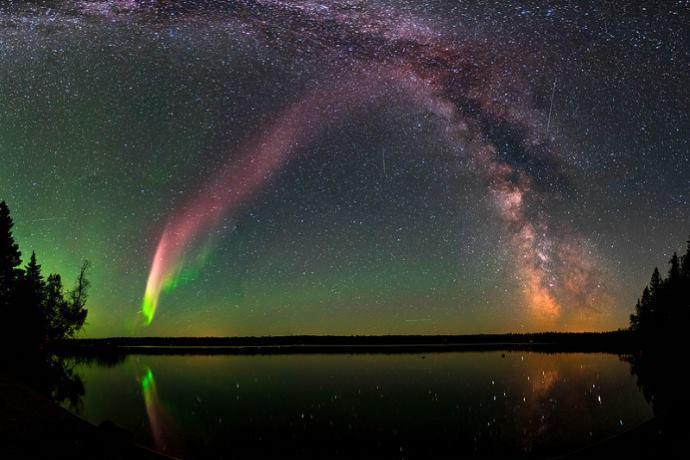 Steve aurora boreale