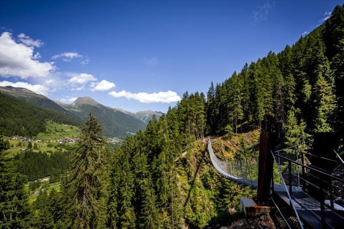 Ponte tibetano Trentino