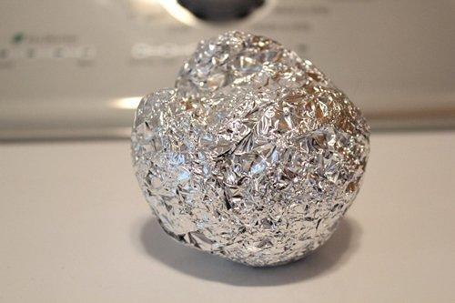 alluminio bucato