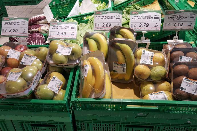 agricoltura biologica imballaggi plastica