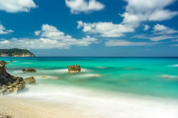 pefkoulia spiaggia