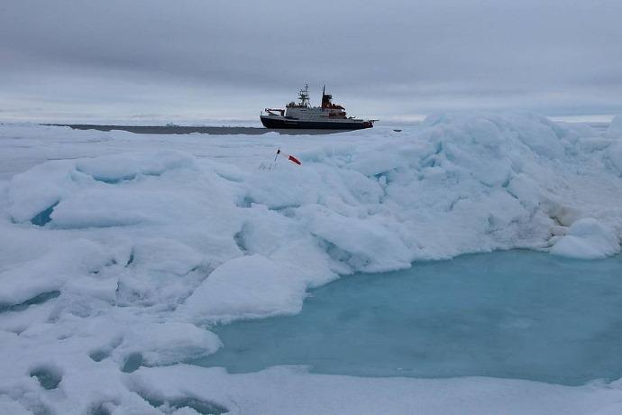 microplastiche mar glaciale artico