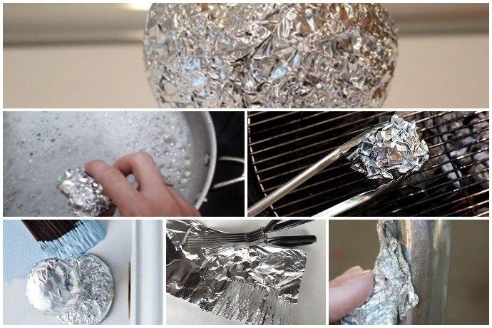 Fogli alluminio usi