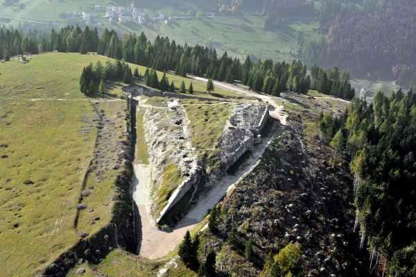 sentiero della pace forte cherle apt alpe cimbra