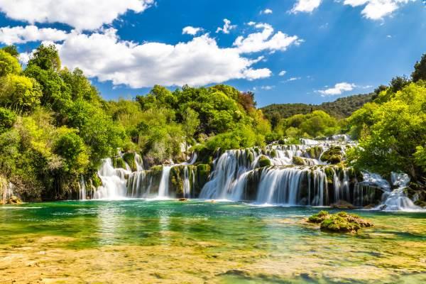 cascata croazia