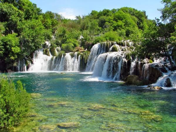 cascata croazia1