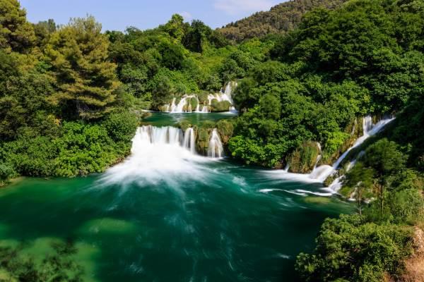 cascata croazia4