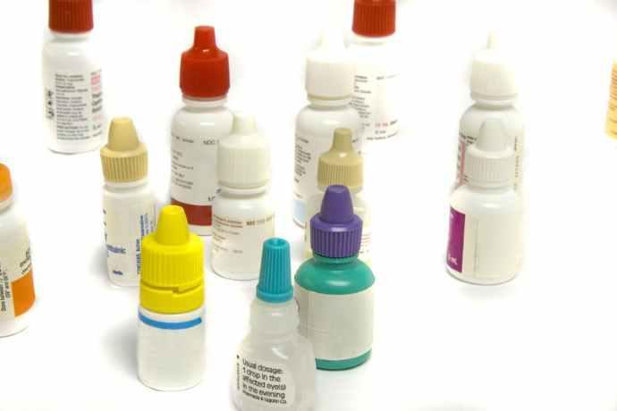 Collirio levofloxacina