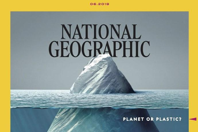 National Geographic plastica