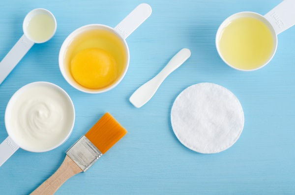 maschera yogurt olio miele
