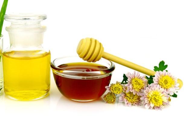 maschera miele olio