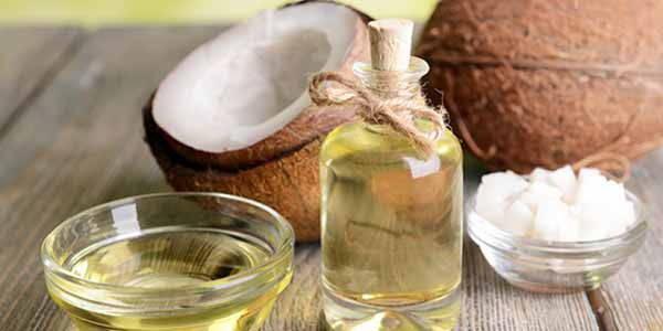 maschera olio di cocco