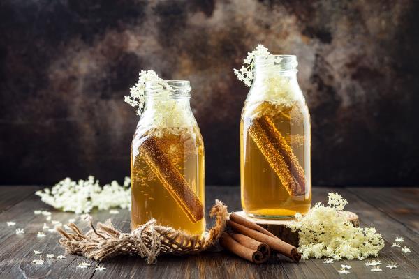 tè fiori sambuco