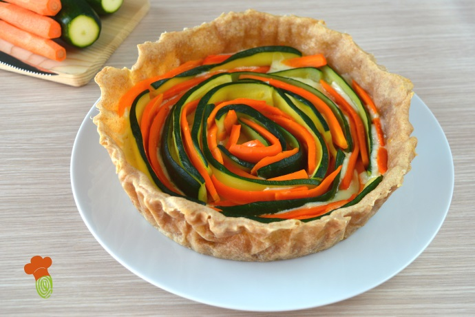 torta salata carote zucchine cover