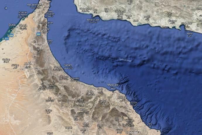 zona morta golfo oman