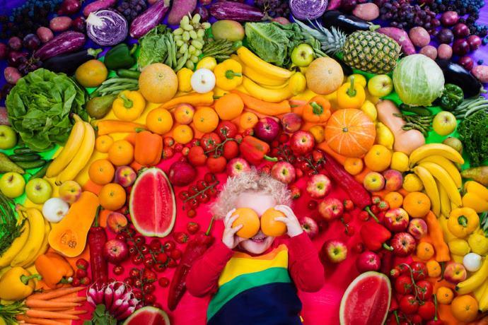 cucinare colori cibo