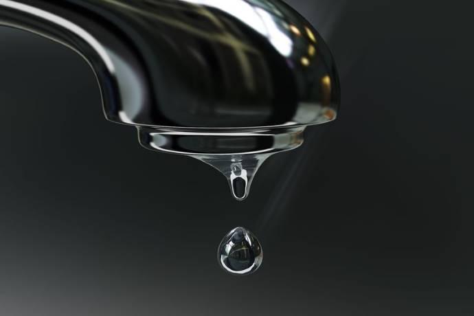 Goccia rubinetto