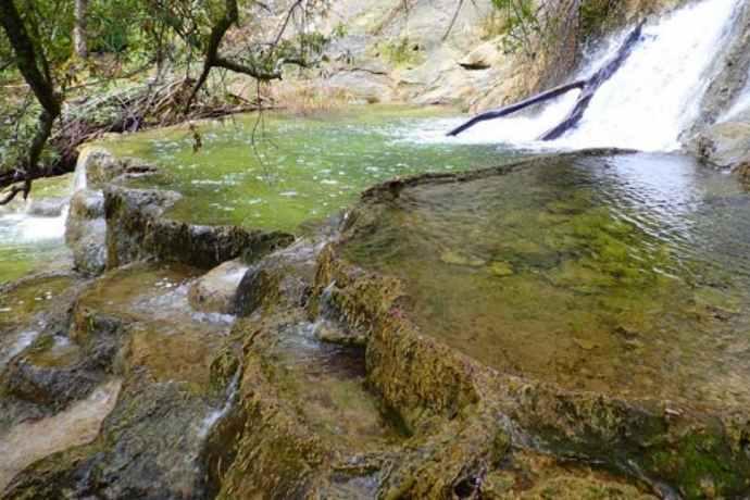 Sa Buddidorgia piscine naturali