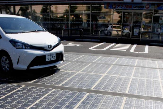 strade solari Tokyo