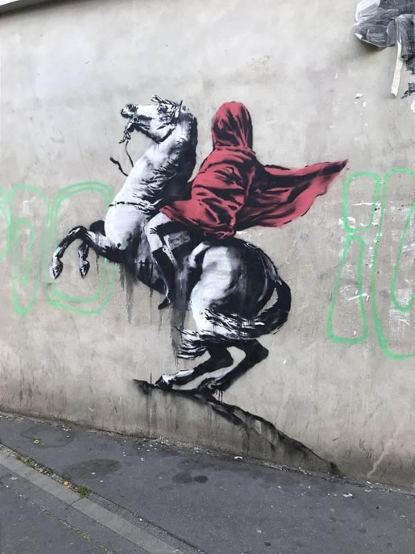 street art banksy parigi1