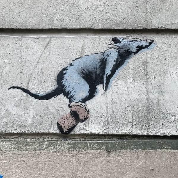 street art banksy parigi41