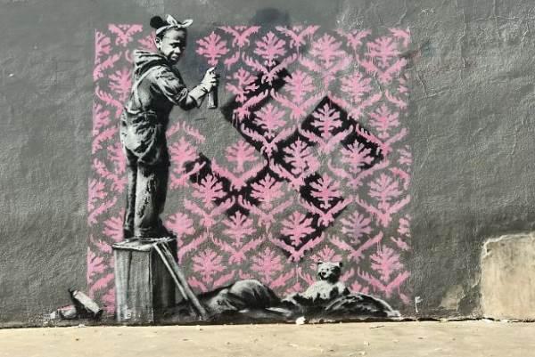 street art banksy parigi6