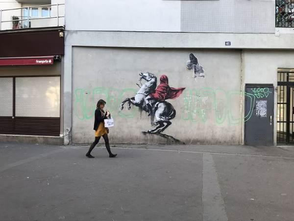 street art banksy parigi7