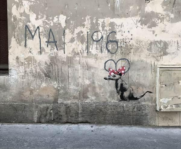 street art banksy parigi71
