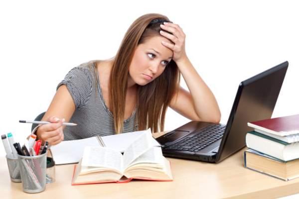 studentessa computer