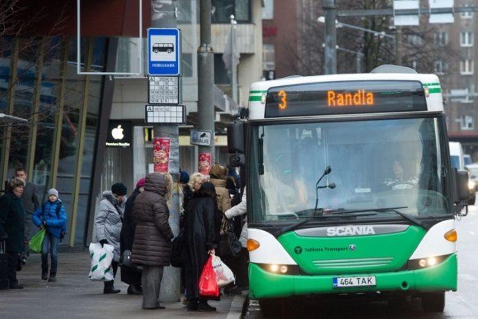 trasporti pubblici gratis Estonia