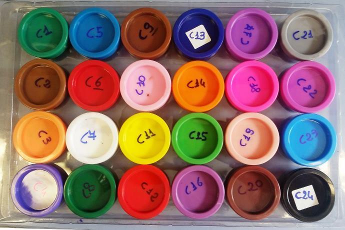 colori a dita