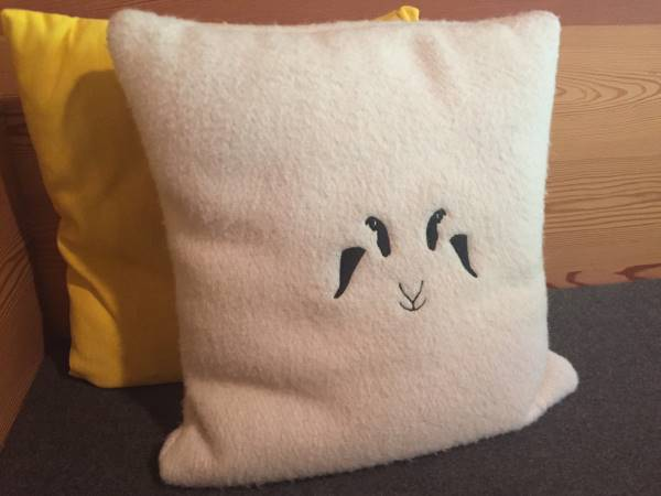 cuscino pecora
