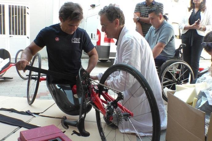 handbike kneeler zanardi bici in ginocchio
