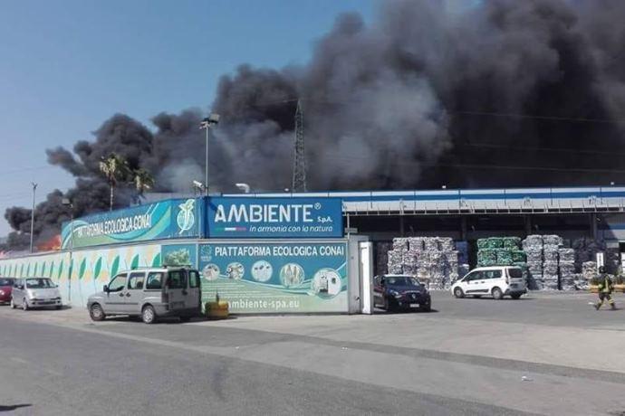 incendio San Vitaliano