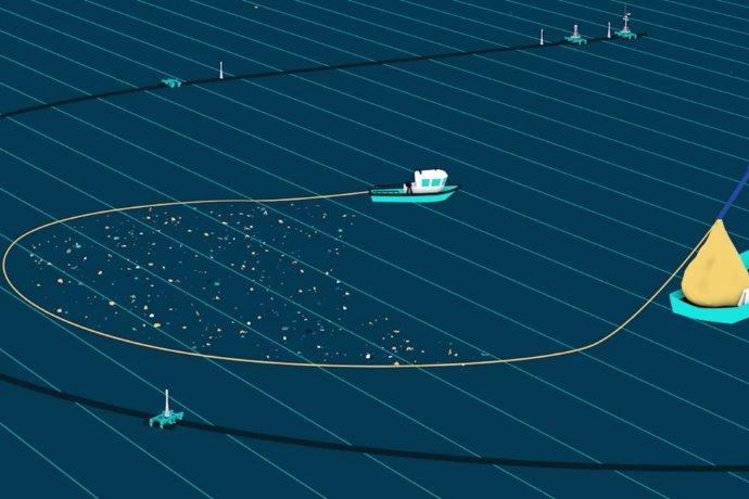 ocean cleanup array nuovo sistema