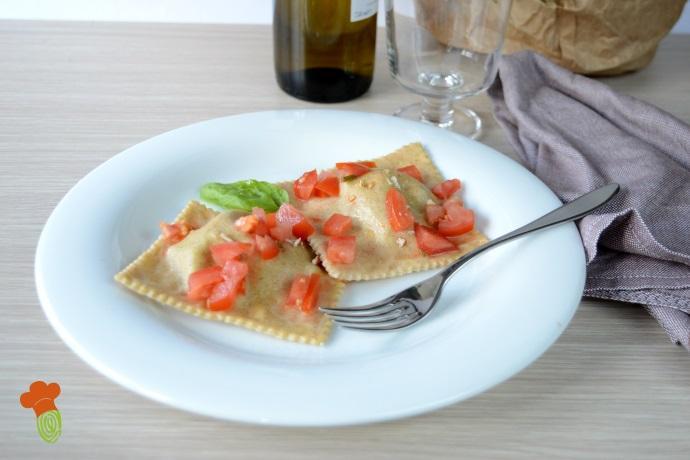 ravioli ripieni di fagiolini cover