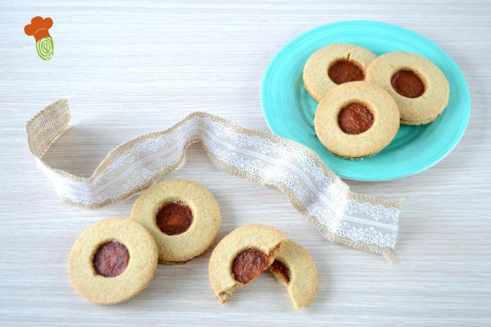 biscotti occhi di bue cover