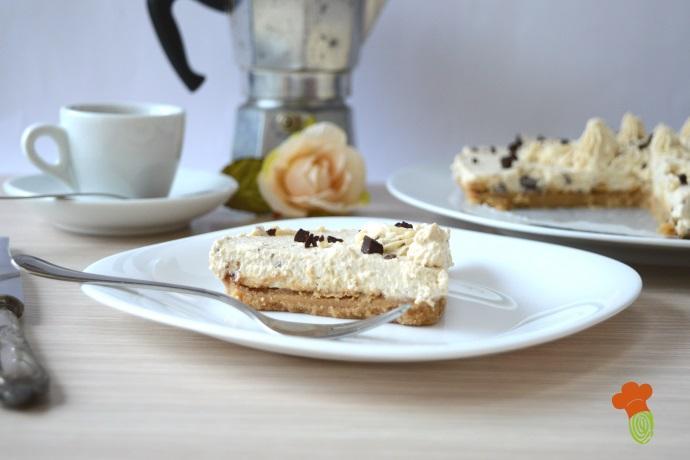 cheesecake caffè variegata cioccolato cover