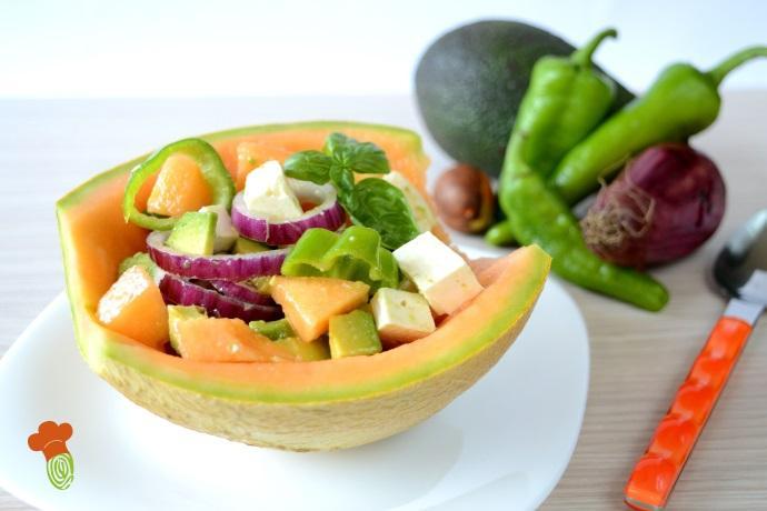 insalata melone avocado cover