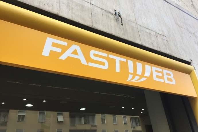 Fastweb pubblicità
