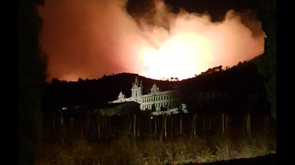 incendio monti pisani 06